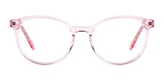 F2137 Grselda Oval pink glasses