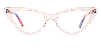 F2151 philomena Cateye pink glasses
