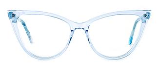 F2159 Harriet Cateye blue glasses