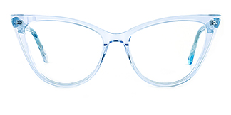 F2159 Harriet Cateye purple glasses