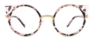 F4530 Darcie Cateye pink glasses