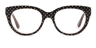 F4532 Danna Cateye brown glasses