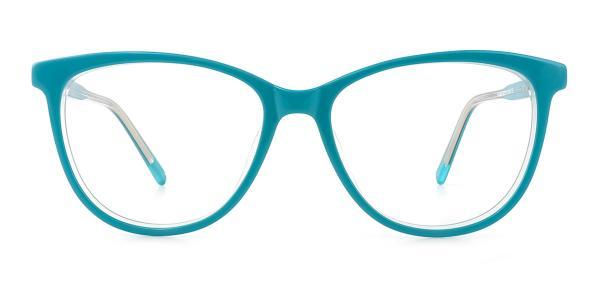 FA033 Joan Oval blue glasses