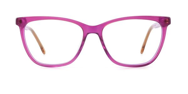 FA036 Judy Rectangle purple glasses