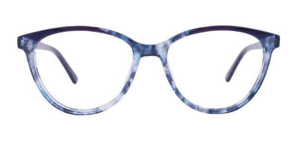 FP1978 Calderon Oval blue glasses