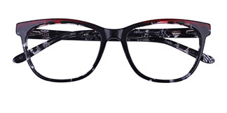 FP1991 Calloway Cateye floral glasses