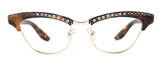 G0153 Amabel Cateye tortoiseshell glasses
