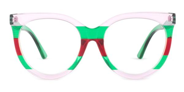 GG0179S Roxie Round green glasses