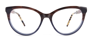 H0054 quentina Cateye grey glasses