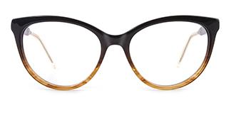 H0054 quentina Cateye tortoiseshell glasses