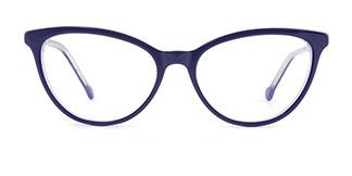 H0534 SHERRY Cateye blue glasses