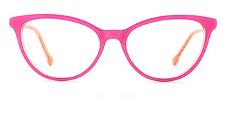 H0534 SHERRY Cateye pink glasses