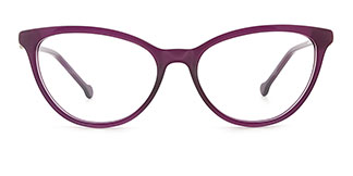 H0534 SHERRY Cateye purple glasses