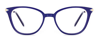 H0536 SUNNY Rectangle blue glasses