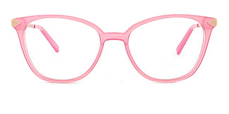 H0536 SUNNY Rectangle pink glasses
