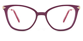 H0536 SUNNY Rectangle purple glasses