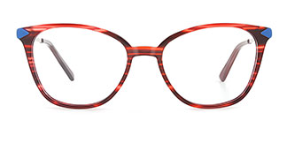 H0536 SUNNY Rectangle tortoiseshell glasses