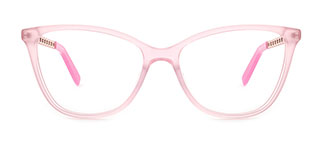 H0548 Tracy Rectangle pink glasses