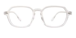 H8066 Hedia Rectangle clear glasses