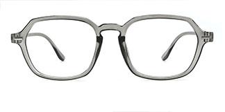 H8066 Hedia Rectangle grey glasses