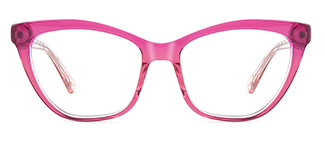 HL0048 Hazel Cateye pink glasses