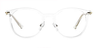 HT-1013 Janna Oval clear glasses