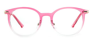 HT-1013 Janna Oval pink glasses