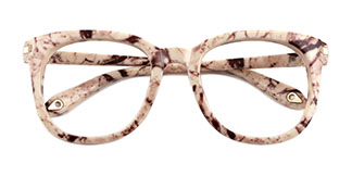 HT007 Heather Oval tortoiseshell glasses