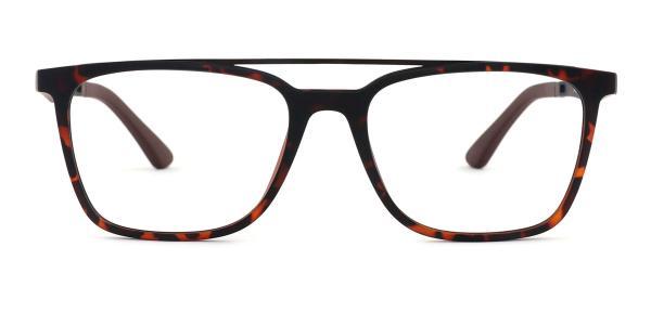 HW8189 Daniel Aviator tortoiseshell glasses