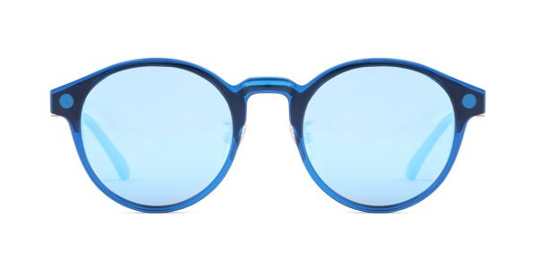 HW939 Samba Round blue glasses