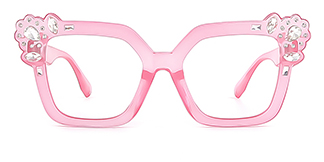 JR66350 Dania Cateye pink glasses