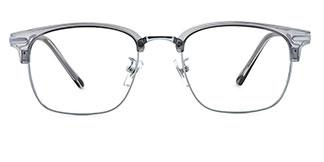 K0022 Cheri Rectangle grey glasses