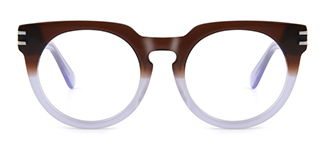 K9100 Darleane Cateye brown glasses