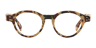 K9138 Quaneisha Oval green glasses