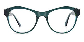 K9222 Darby Geometric green glasses