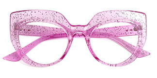 K9620 Sasha Cateye pink glasses