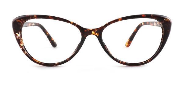 KX002 Kaylyn Cateye tortoiseshell glasses