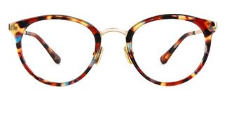 L-7012 Quincy Round tortoiseshell glasses
