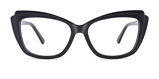 L7323 ritamargaet Cateye black glasses