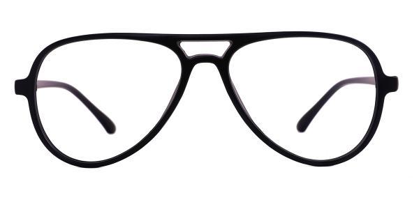 LD2431 Heloise Aviator black glasses