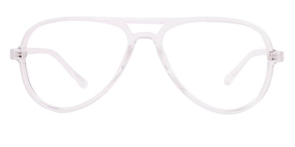 LD2431 Heloise Aviator clear glasses