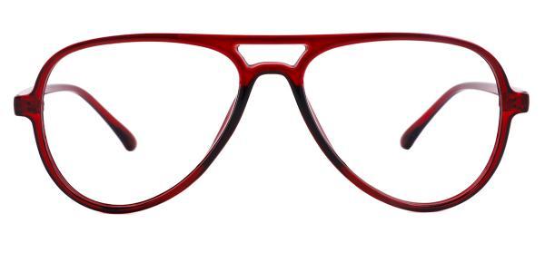 LD2431 Heloise Aviator red glasses