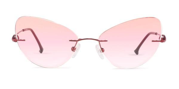 LM6622 Yetta Cateye red glasses