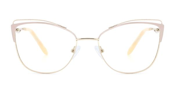 M0002 Pamila Cateye pink glasses