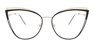 M1003 SUE Cateye black glasses