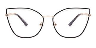 M1026 Victoria Cateye red glasses