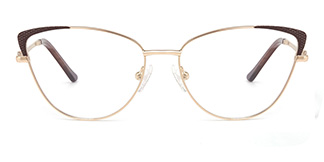 M1033 Serenity Cateye pink glasses
