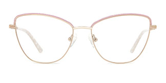 M1045 Vivian Cateye pink glasses