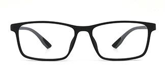 M2036 Jose Rectangle black glasses