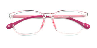 M2110 Kaylee Rectangle blue glasses